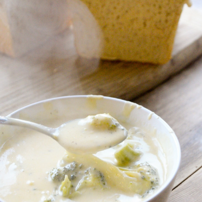 Mom's One-Pot Broccoli Cheese Soup