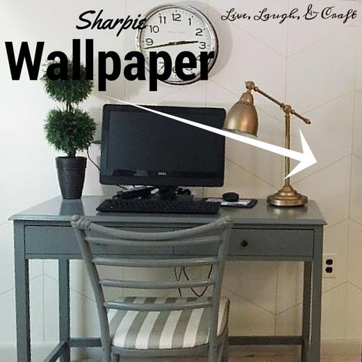Sharpie Wallpaper Tutorial