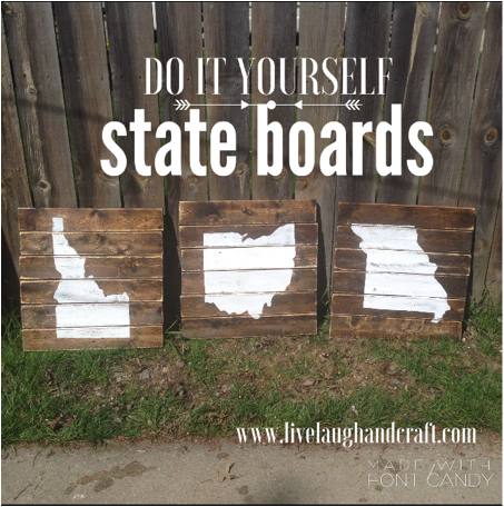 Planked State Signs