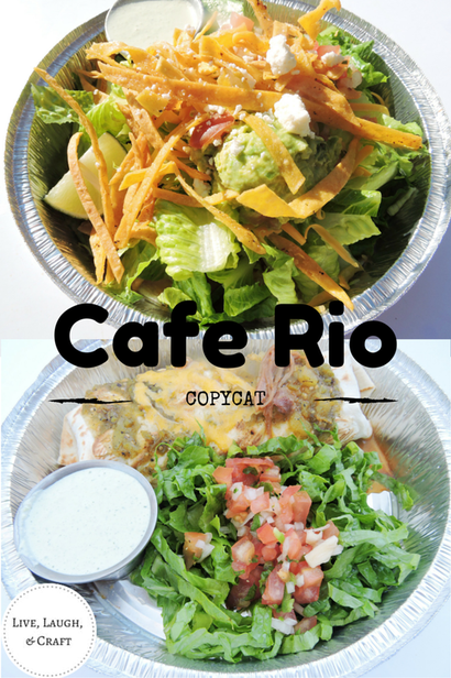 The BEST Cafe Rio Recipes in one place!!