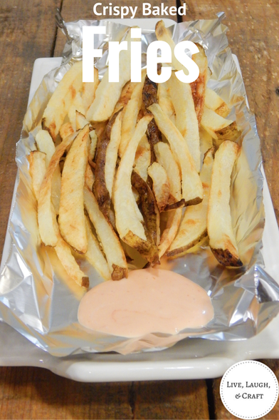Homemade Crispy Fries-Restaurant Style