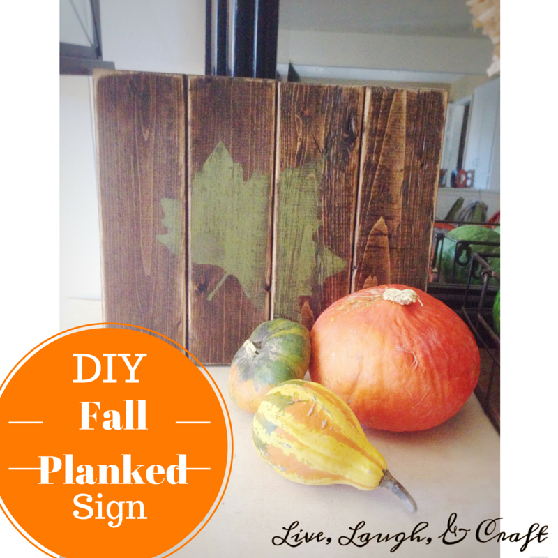 Fall Planked Sign