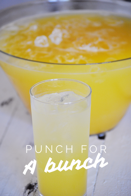 Best party punch for a large crowd