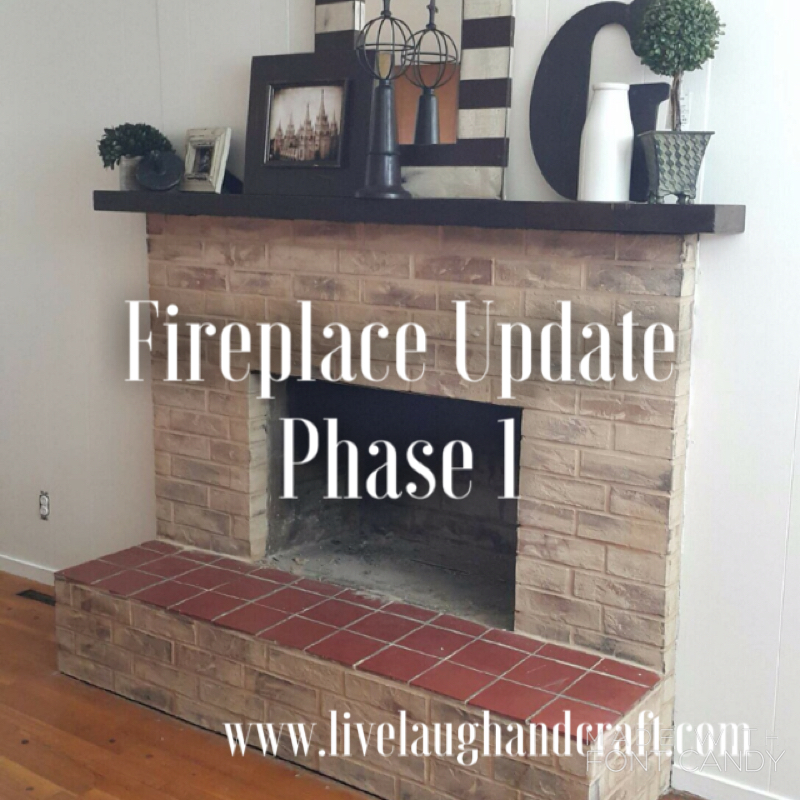 How to do sanded grout on a fireplace