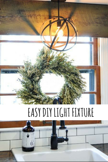 How to make your own light fixture. This is much easier than you'd think! All you need is a light kit and the piece you'd like to make into a light. The possibilities are endless.