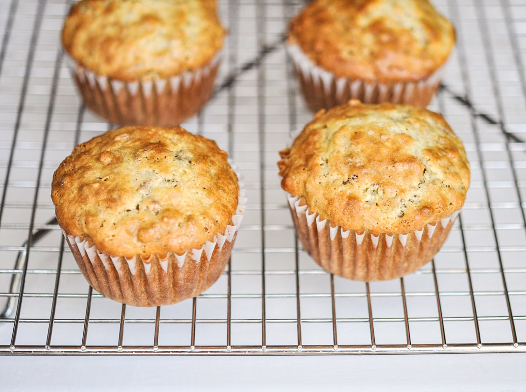 Buttermilk bran muffin recipe--batter lasts up to 6 weeks in your fridge.