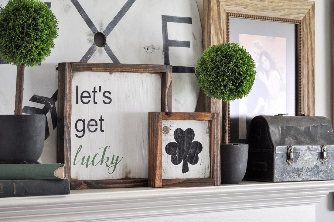 St. Patrick's Day Signs with Silhouette Cameo