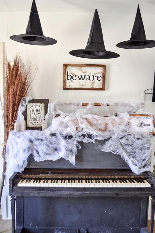 Spooky Halloween Spider Webs