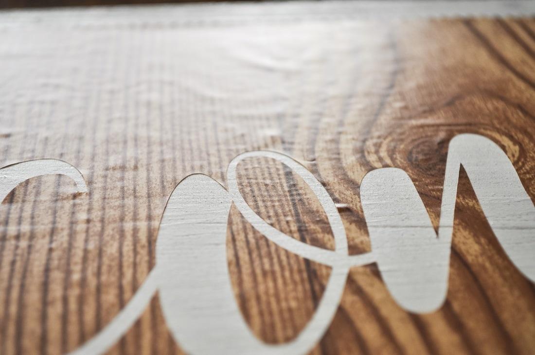 How do you apply a stencil?