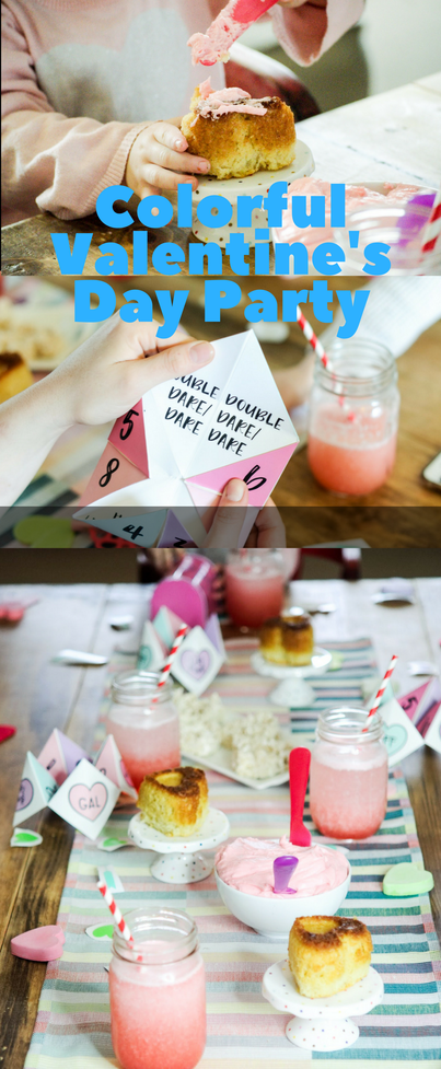 This was a great party idea for kids #valentinesday #party