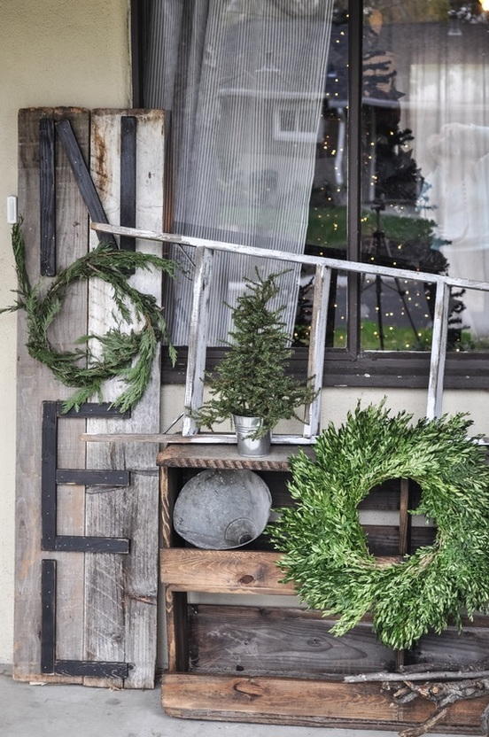 Rustic Noel Porch Sign