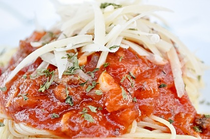 Improve your store bought spaghetti sauce with this recipe! Take boring spaghetti to AMAZING!