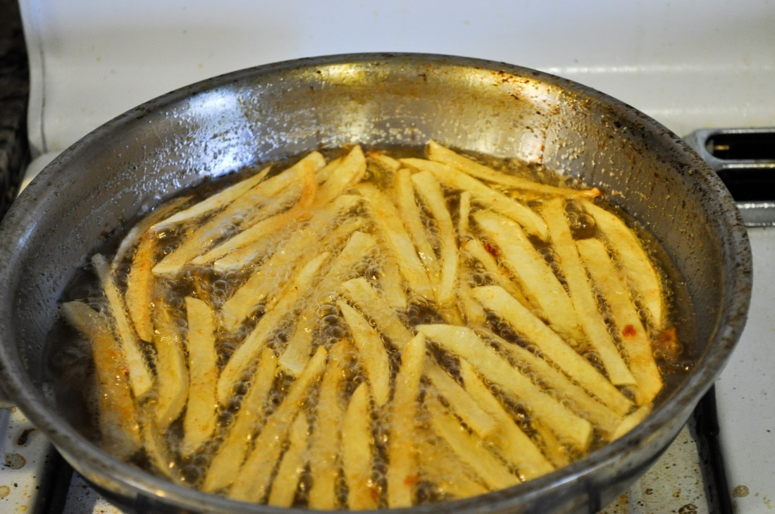 The easy way to make homemade fries