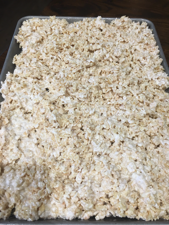These are magical rice crispy treats. So buttery and ooey gooey. You'll never make them the same way again after tasting these!