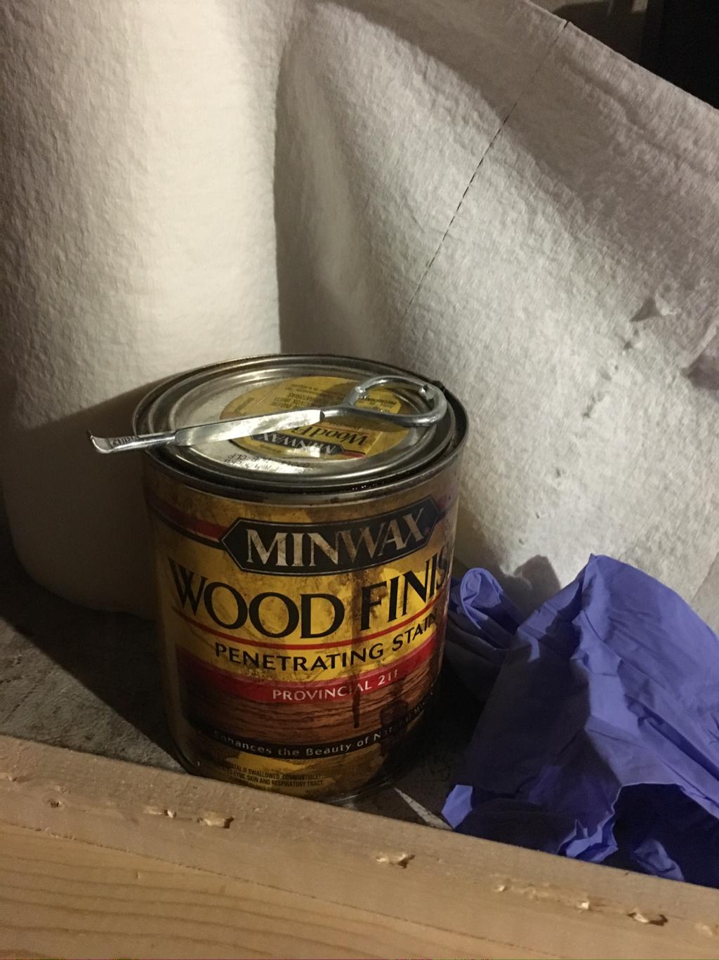 Minwax Dark Walnut