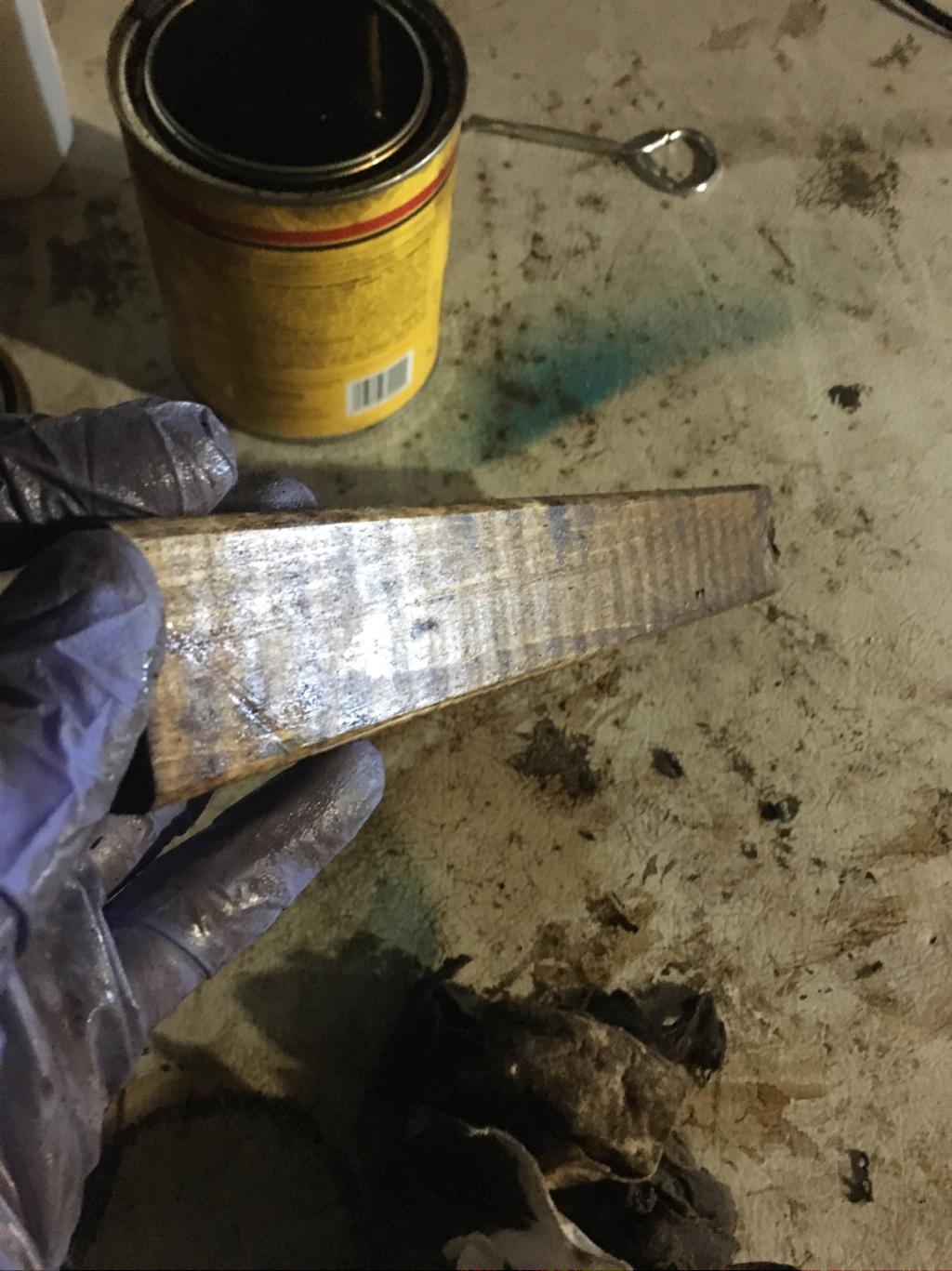 Best stain for DIY projects is dark walnut by minwax