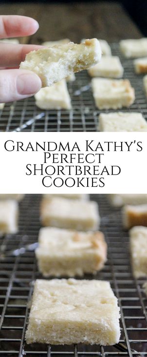 Classic shortbread #cookies that are SO easy to make and melt in your mouth delicious.
