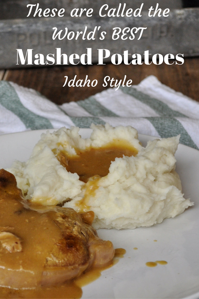 Authentic Idahoan mashed potatoes cannot be beat!! You must try this recipe!
