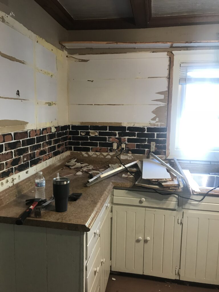 140 year old kitchen remodel
