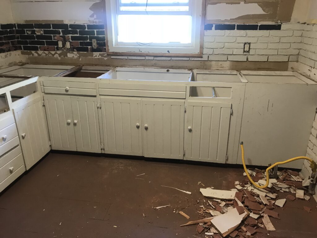 kitchen remodel process