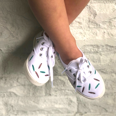 Personalized sneakers  with Cricut EasyPress Mini
