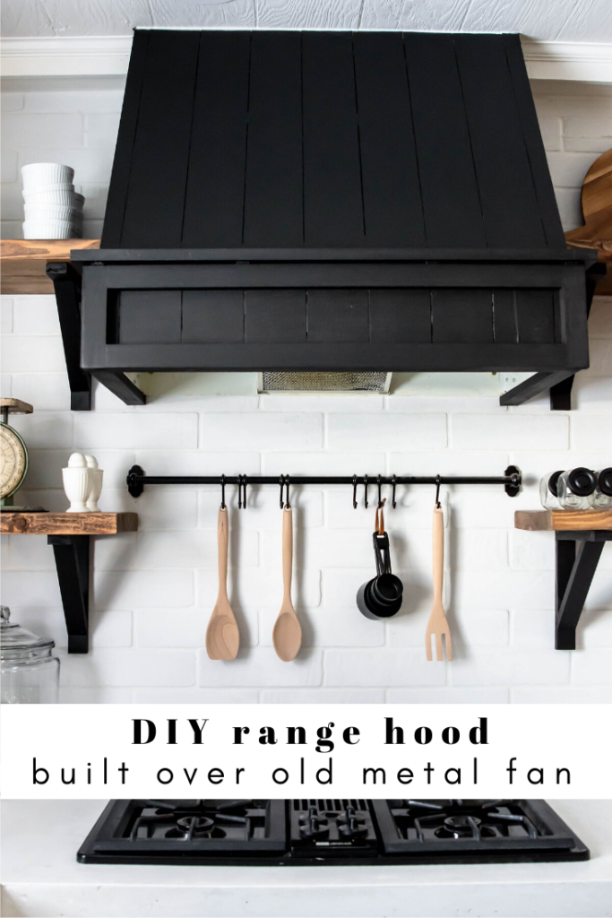 Build your own range hood around an old fan.