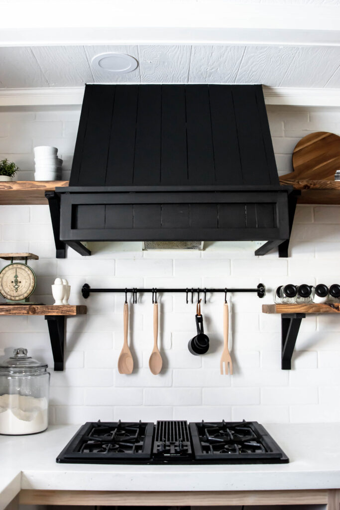 How to DIY a range hood around an old fan