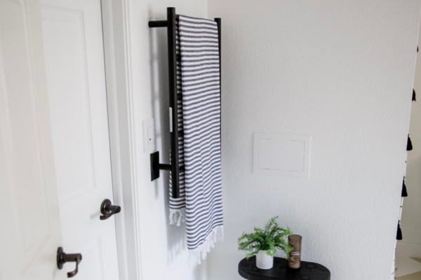 BEAUTIFUL WIFI ENABLED BATHROOM BUTLER TOWEL WARMER