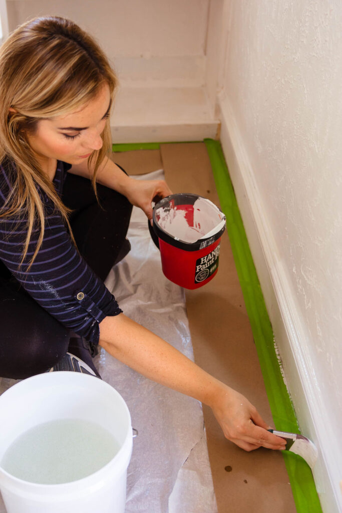 how long to let walls dry before painting
