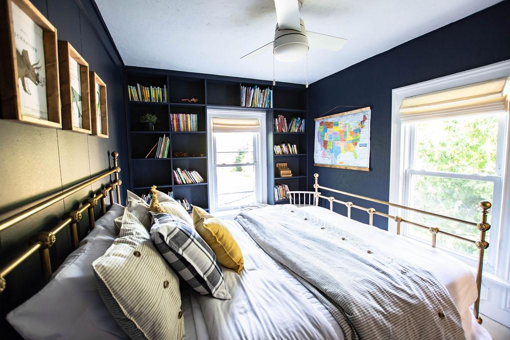 moody bedroom colors