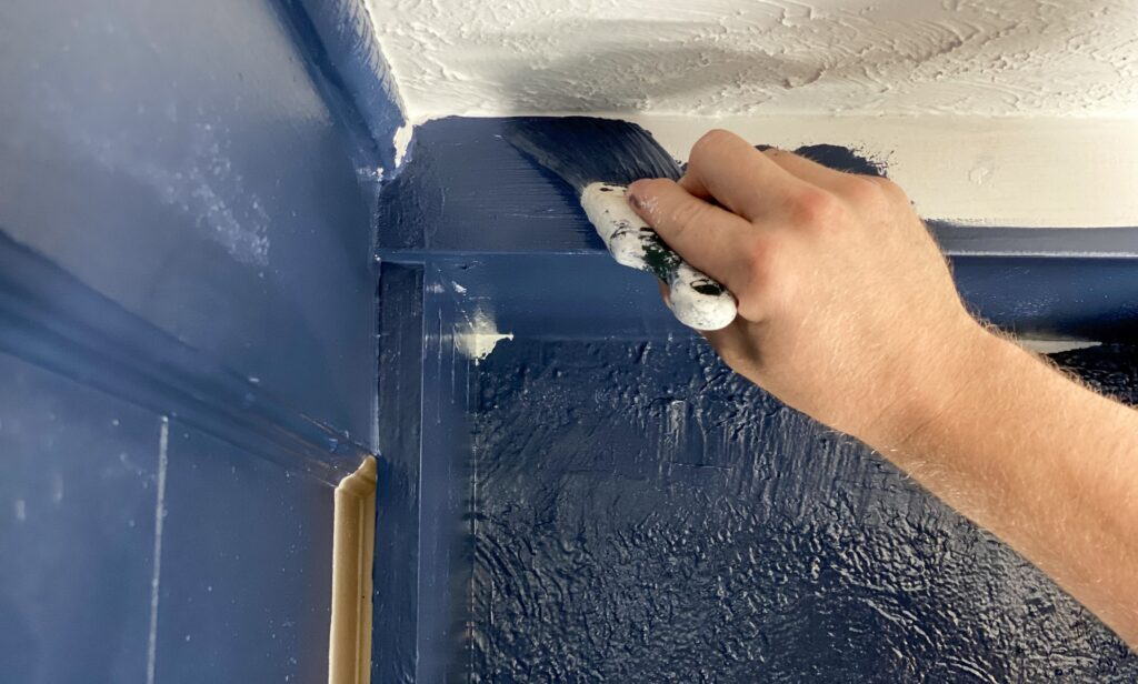 how to paint a wall professionally