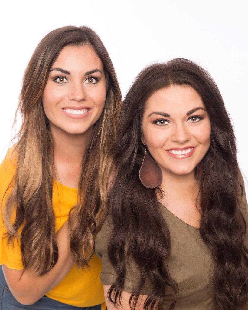 Cassie and Sadie Clover Lane