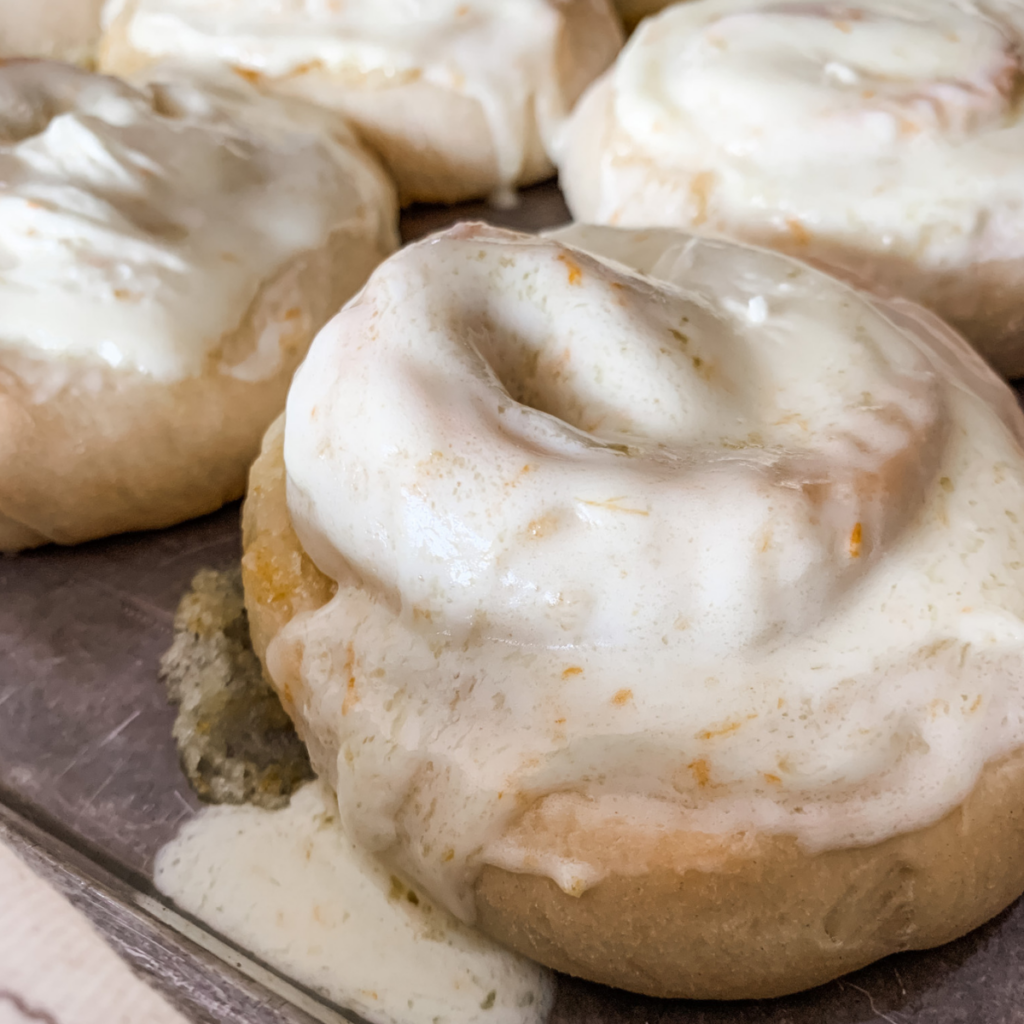 The perfect orange roll thats both soft and easy to make!