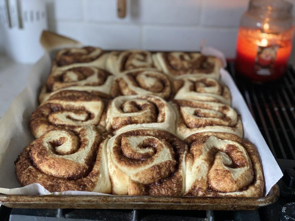 Fluffy, soft, cinnamon rolls