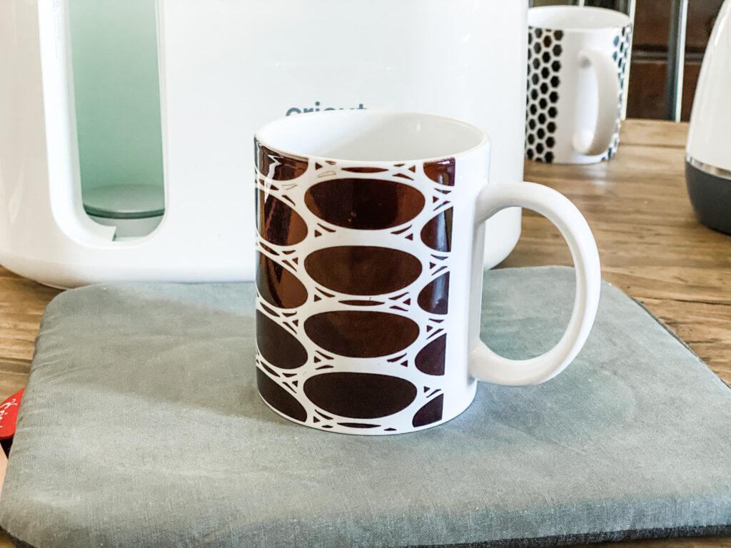 Patterned mug tutorial